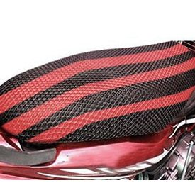 Speedwav Bike Net Seat Cover Sheet-Red & Black