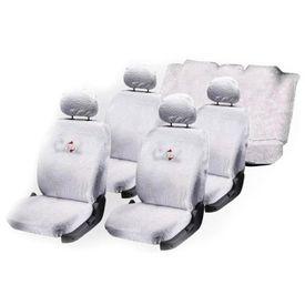 Speedwav Sweat Control White Towel Seat Covers