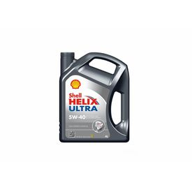 Shell Helix Ultra 5W-40 Synthetic Car Petrol Engine Oil 4 Litre
