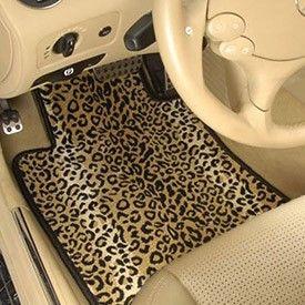 Speedwav Perfect Fit Car 3D Floor Mats Set of 4 Cheetah