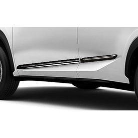 Speedwav Custom Fit Car Side Beading BLACK & Chrome