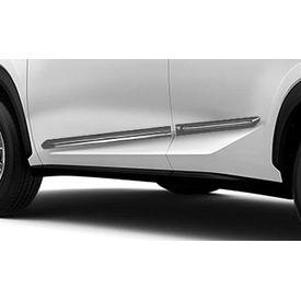 Speedwav Custom Fit Car Side Beading GREY & Chrome