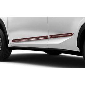 Speedwav Custom Fit Car Side Beading RED & Chrome