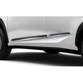 Speedwav Custom Fit Car Side Beading SILVER & Chrome