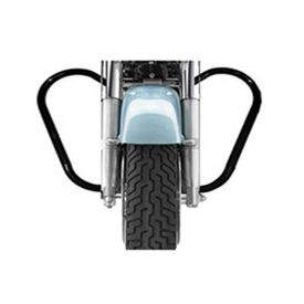Speedwav Bike Safety Leg Crash Guard BLACK