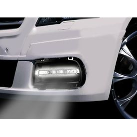 Speedwav Car Fog Lamp Cover With Integrated DRL Set of 2