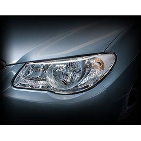 Depo Car Crystal Headlight Assembly LEFT