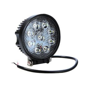 Speedwav 9 LED Bike Aux Fog Light Assembly Round