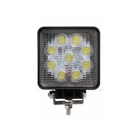 Speedwav 9 LED Bike Aux Fog Light Assembly Square