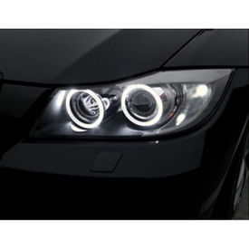 Speedwav Car Halo CCFL Tube Angel Eyes Light WHITE