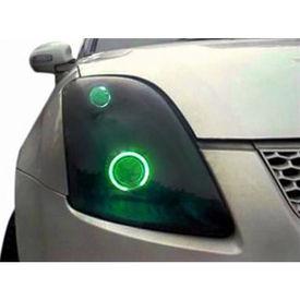 Speedwav Car Halo CCFL Tube Angel Eyes Light GREEN