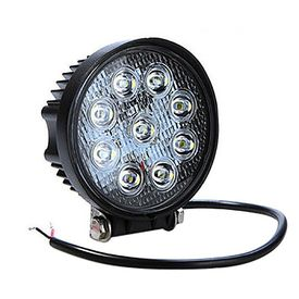 Speedwav 9 LED Car Aux Fog Light Assembly Round