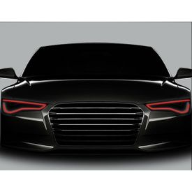 Speedwav Flexible 30cm Car Headlight Neon LED DRL Tube-Red