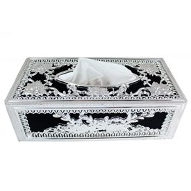 Speedwav Royal Silver Designer Tissue Holder Box
