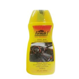 Formula 1 Vinyl and Leather Polish for Leather / Rubber / Vinyl / Plastic147ml