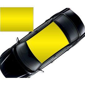 Speedwav Car Roof Glossy Wrap Sheet Neon Yellow