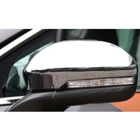 Speedwav Mirror Covers With Indicator Set Of 2 CHROME