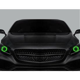 Speedwav Car Halo CCFL Angel Eyes Light GREEN