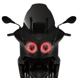 Speedwav Bike Headlight Angel Eye LED Light SetOf2 RED