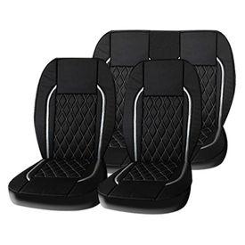 Speedwav Black B1 Leatherette Car Seat Cover