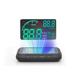 Speedwav 4 Inch Plug-& -Play OBD-II Car Heads Up LED Display
