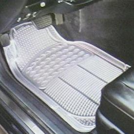 Speedwav Premium Transparent White Car Floor/Foot Mats