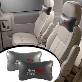 Type R Car Seat Neck Cushion Pillow - Grey Colour