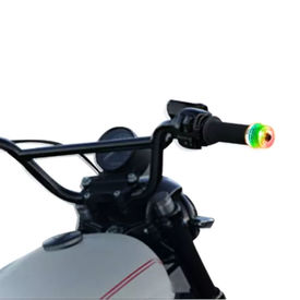 Speedwav Stylish Bike Handle Grip Edge LED with Switchable Colors Lights