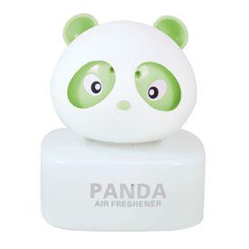 Panda Car Natural Air Freshner Freshener Liquid Perfume Bottle Base-Green