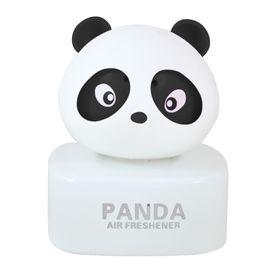Panda Car Natural Air Freshner Freshener Liquid Perfume Bottle Base-Black