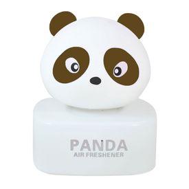 Panda Car Natural Air Freshner Freshener Liquid Perfume Bottle Base-Brown