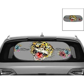 Ed Hardy Rear Sun Shade for cars
