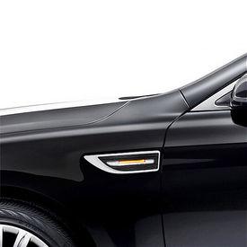 Speedwav YCL-723 3 in 1 Car LED Side Indicator Light Set of 2 Silver