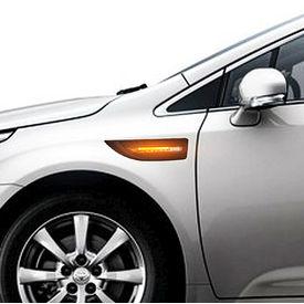 Speedwav YCL-723 3 in 1 Car LED Side Indicator Light Set of 2 Black