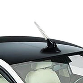 Speedwav Wind Powered LED Light Car Antenna - Black Base