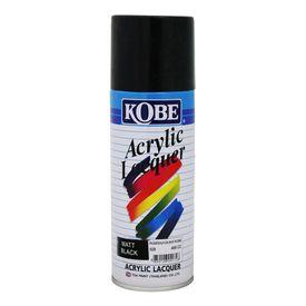Kobe Car Touchup Spray Paint 400ml - Gloss Black