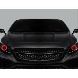 Speedwav Angel Eyes CCFL Halo Light for Car & Bike Headlight - Red