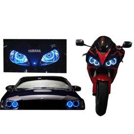 Speedwav Bike Halo CCFL Tube Angel Eyes Light BLUE