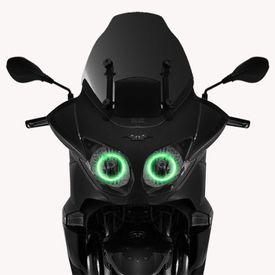 Speedwav Bike Halo CCFL Tube Angel Eyes Light GREEN