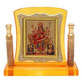 Speedwav AK-11 Car Dashboard God Idol-Goddess Jai Mata Di