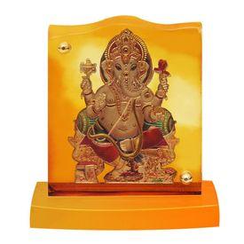 Speedwav AK-18 Car Dashboard God Idol-Lord Ganesh Ji