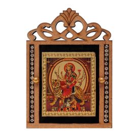 Speedwav M-61 Car Dashboard God Idol-Goddess Jai Mata Di