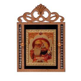 Speedwav M-61 Car Dashboard God Idol-Guru Nanak Dev Ji
