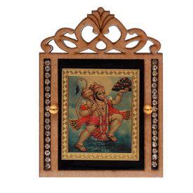 Speedwav M-61 Car Dashboard God Idol-Lord Hanuman Ji