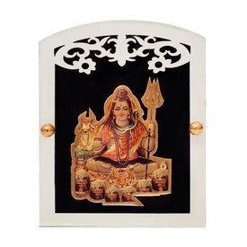 Speedwav M-73 Car Dashboard God Idol-Lord Shiv Ji