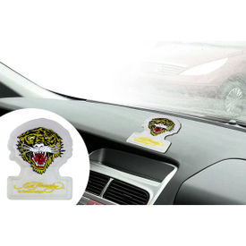 Ed Hardy Roaring Tiger Anti-Slip Dashboard Sticky Pad - White