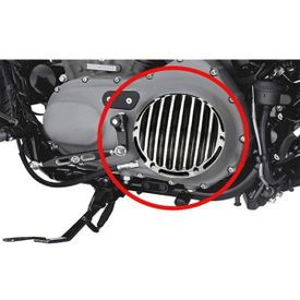 Deep Cut Derby & Timer Covers Set of 2 Black for Harley Davidson