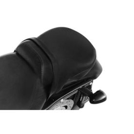 Passenger Pillion Seat Black for Harley Davidson