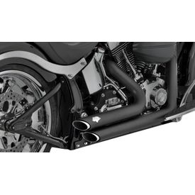 Vance and Hines Shortshots Staggered Exhaust for Harley Davidson