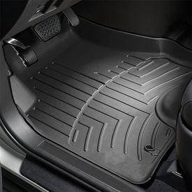 Speedwav Perfect Fit Car 3D Floor Mats Set of 4 Black-Renault Kwid